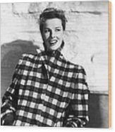 Undercurrent, Katharine Hepburn, 1946 Wood Print by Everett