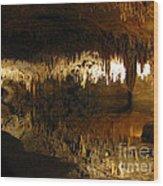 Underground Lake 02. Luray Caverns Va Wood Print
