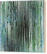 Underwater Forest Wood Print