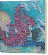 Underwater Splendor I Wood Print by Denise Hoag