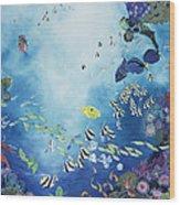 Underwater World IIi Wood Print