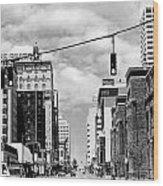 Union Avenue Memphis Wood Print