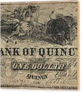 Union Banknote, 1861 Wood Print