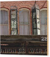 Union Brewery Virginia City Nv Wood Print