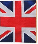 Union Flag Wood Print