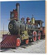 Union Pacific 119  Left Wood Print