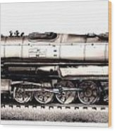 Union Pacific 4-8-8-4 Steam Engine Big Boy 4005 Wood Print