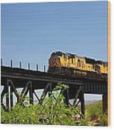 Union Pacific 5145 Wood Print