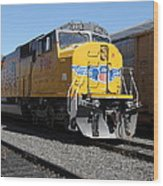 Union Pacific Locomotive Trains . 5d18821 Wood Print