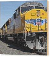 Union Pacific Locomotive Trains . 5d18824 Wood Print