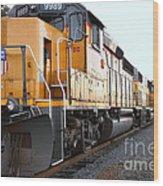 Union Pacific Locomotive Trains . 7d10588 Wood Print
