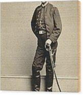 Union Soldier, 1860s Wood Print