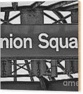 Union Square  Wood Print