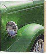 Unique Classic Car Wood Print