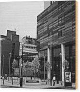 university of strathclyde buildings in Glasgow Scotland UK Wood Print
