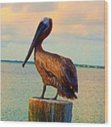 Until Tomorrow In Long Boat Key 2 Wood Print
