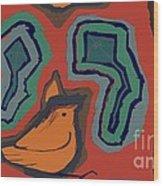 Untitled 25 Wood Print