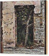 Untitled Wood Print by Daniele Smith