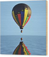 Up Up And Away Wood Print