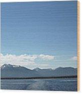 Up Up And Away Lake Tahoe Wood Print