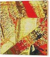 Upheaval II Wood Print