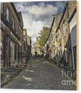 Uphill At Haworth Wood Print