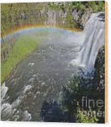 Upper Mesa Rainbow Wood Print