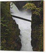 Upper Qualicum Falls 2 Wood Print