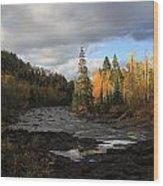 Upper Temperance Wood Print
