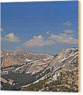 Upper Yosemite Panorama Wood Print