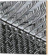 Ups And Downs Wood Print by Vishakha Bhagat