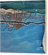 Upside-down World Series 5 Wood Print