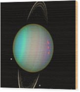 Uranus Wood Print