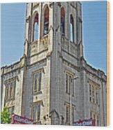 Urban Grace Church Wood Print