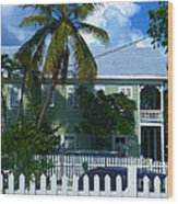 Urban Key West  Wood Print