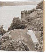 Urquhart Castle Ages Wood Print