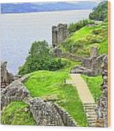 Urquhart Castle IIi Wood Print