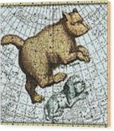 Ursa Major Constellation, Bode Star Atlas Wood Print by Detlev Van Ravenswaay
