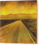 Us 50 - The Loneliest Road In America Wood Print