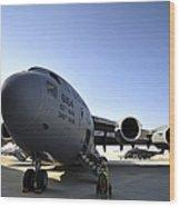 U.s. Air Force C-17 Globemaster IIi Wood Print