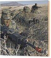 U.s. Air Force Pre-ranger School Wood Print