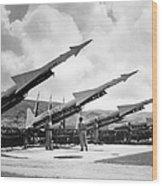 U.s. Army Missiles, C1965 Wood Print