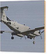 U.s. Army Rc-12x Guardrail Sigint Wood Print