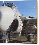 Us Fighter Jet Plane . 7d11232 Wood Print