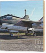 Us Fighter Jet Plane . 7d11239 Wood Print by Wingsdomain Art and Photography