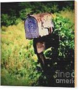 U.s. Mail Wood Print