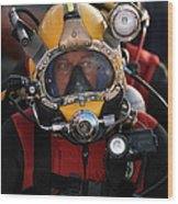 U.s. Navy Officer Wears The Mk-21 Mod Wood Print