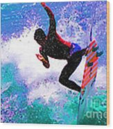 Us Open Of Surfing 2012 Wood Print