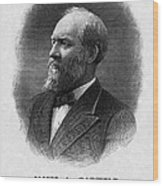 Us Presidents. Us President James Wood Print by Everett