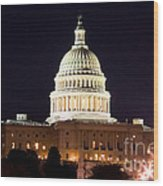 Us Senate Wood Print